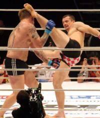 Остальные виды спорта: Правда ли  что Мирко повредил ногу на тренировке