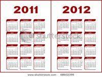 Остальные виды спорта: Календарь на 20112012 год