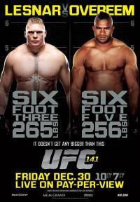 Остальные виды спорта: UFC 141  Lesnar vs  Overeem 31 декабря