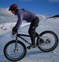 Остальные виды спорта: Зимний велотуризм