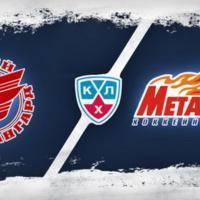 Новости хоккея: 14 финала  Авангард vs Металлург Мг