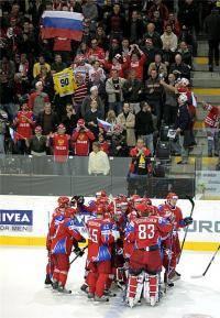 Новости хоккея: Россия   Швеция  30 04 09