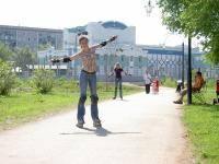 Катание на роликах: Любишь погонять с ветерком