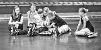 Катание на роликах: Москва  Первый детский кубок по слалому