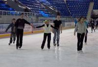 Зимние виды спорта: Заказ музыки для сеансов массового катания во Дворце Спорта