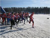 Зимние виды спорта: Чемпионат г  Твери по зимнему триатлону