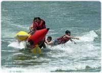 Водные виды спорта: Разворот в воде как
