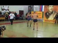 Единоборства: Открытый чемпионат г Москвы по современному панкратиону