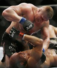 Единоборства: Рэнди Кутюр   Брок Леснар 15 ноября  UFC 91