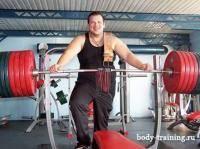 Фитнес и бодибилдинг: Результаты в жиме  присяде и становой