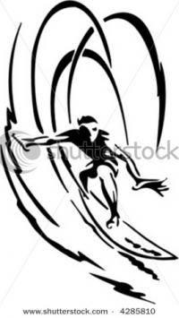 Экстремальные виды спорта: Surf art
