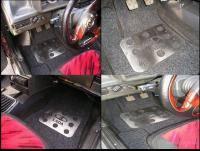 Автоспорт: вода на ковриках